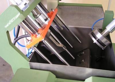 Bancada para testes de estanqueidade à seco e imersão em água em peças fundidas 03