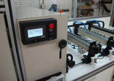 Bancada para testes de estanqueidade e obstrução em tubulações de combustível 02