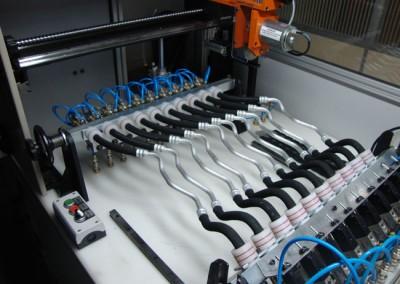 Bancada para testes de estanqueidade e obstrução em tubulações de combustível_g