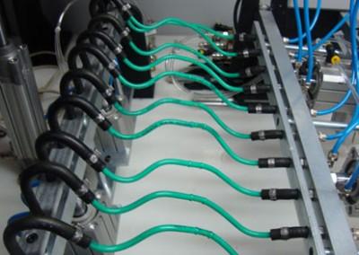 Bancada para testes de estanqueidade e obstrução em tubulações de combustível_h