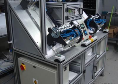 Bancada para testes de estanqueidade e obstrução em tubulações de combustível_j