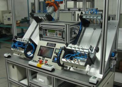 Bancada para testes de estanqueidade e obstrução em tubulações de combustível_k