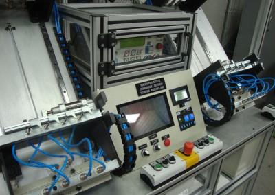 Bancada para testes de estanqueidade e obstrução em tubulações de combustível_l