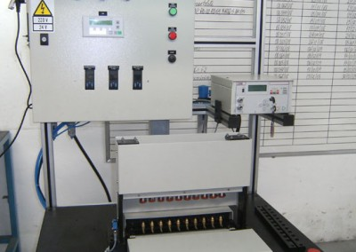 Bancada para testes de estanqueidade e obstrução em tubulações hidráulicas