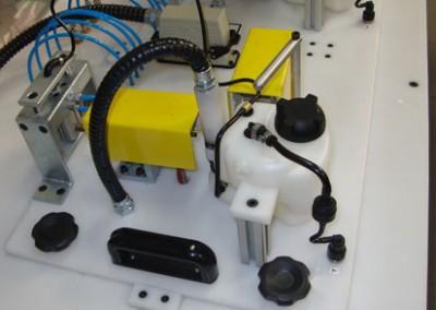 Bancada para testes de estanqueidade em reservatório partida a frio 02