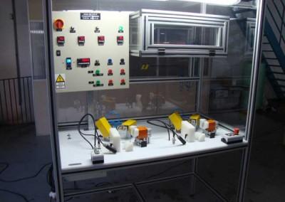 Bancada para testes de estanqueidade em reservatório partida a frio 04