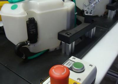 Bancada para testes de estanqueidade em reservatório partida a frio_b