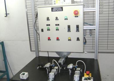 Bancada para testes de estanqueidade tubulação e injeção de combustível 02