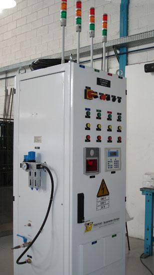Equipamento para controle de estanqueidade em tanques automotivos de combustível - 4 saídas 04